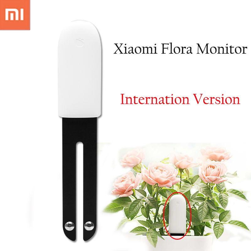 <font><b>International</b></font> version Xiaomi Mi Flora Monitor Digital Plants Grass Flower Care Soil Water Light Smart Tester Sensor for Garden