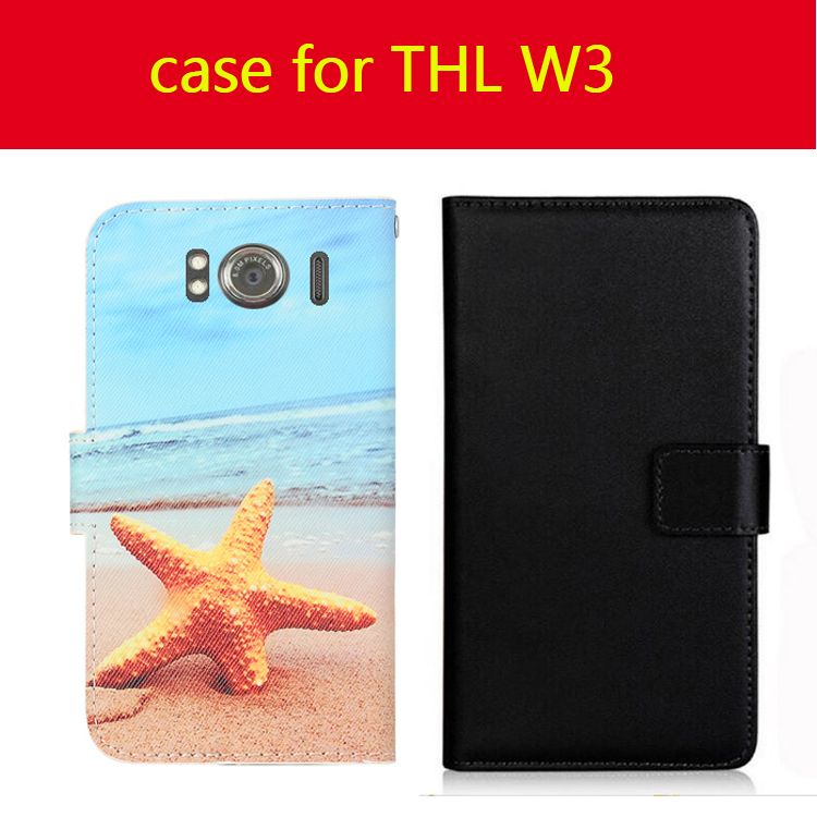 for THL W3/T200/V12/4000/W100/T200/W7/W8 Case Phone Slip-resistant Cover Wallet Style