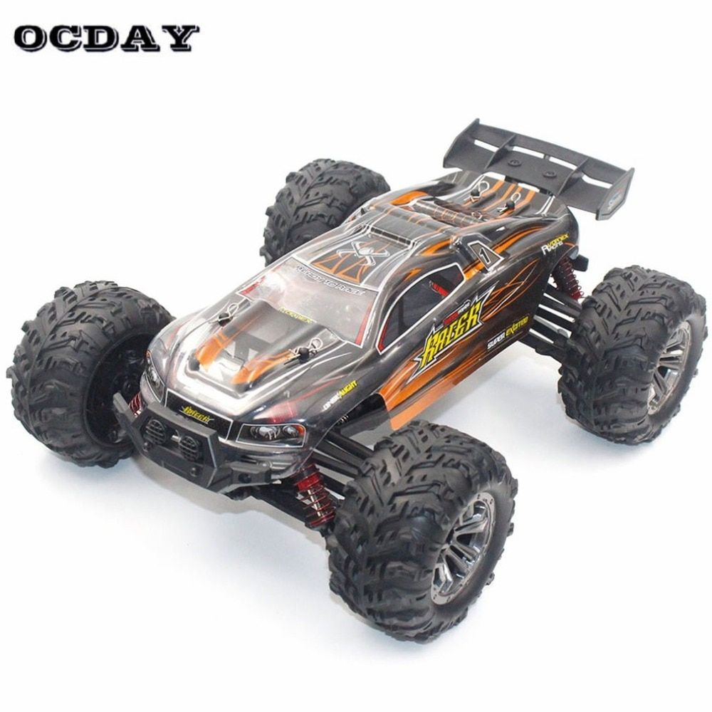 Professional 4WD RC Car 1:16 High Speed Motors Drive Buggy Remote Control Radio Controlled Machine Off-Road Cars Toys for kid ti