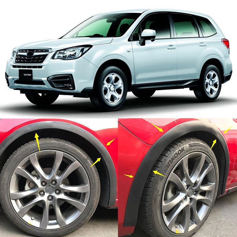 4 teile/satz Hohe Qualität MUD FLAP FLATTERT SPRITZEN-SCHUTZ Schmutzfänger Kotflügel Spezielle Für Subaru Forester XV Outback