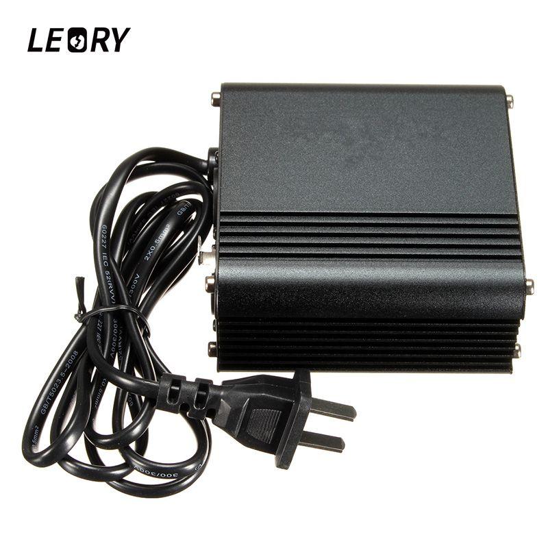 Leory 48 В нам Phantom Питание с адаптером Шум шумоподавления для конденсаторный микрофон музыка Запись оборудования