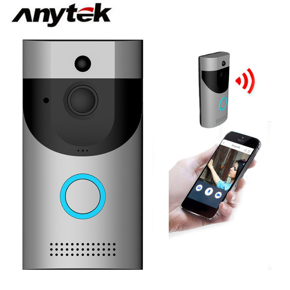 Anytek B30 Wireless WiFi Intercom Video Doorbell+ B10 Doorbell Receiver Set Door Bell Camera Wifi Video Night Vision