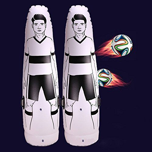 1.75m Adult Children Inflatable Football Training Goal Keeper Tumbler Air Soccer Train Dummy penalty equipment top quality