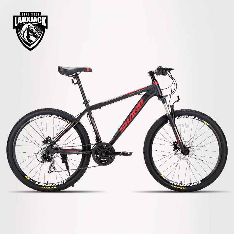 Mountain bike aluminum frame 24 speed Shimano 26