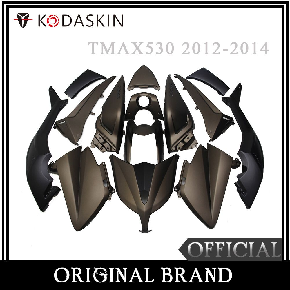 KODASKIN Motorcycle Tmax Fairing ABS Plastic Injection Tmax530 Fairing Kit Bodywork Bolts for Yamaha Tmax 530 2012 2013 2014