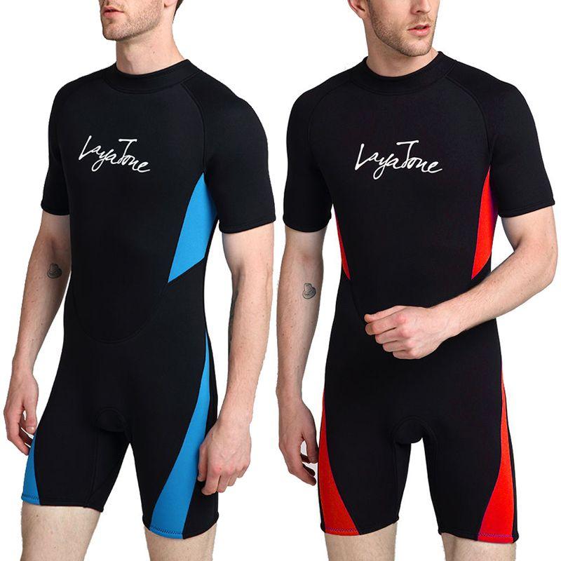 3mm Neoprene Wetsuit Men 2018 Muta Swimwear One-piece Swimsuit Plus Size Snorkeling Diving Triathlon Sports Snorkeling Wet Suit