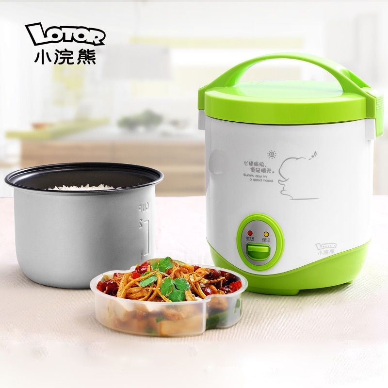 raccoon Mini Rice cooker Small Rice cooker Cooking pot Mini Rice cooker 1L Student rice cooker