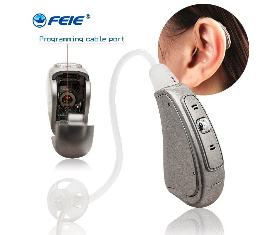 RIC Digitale Verstärker prothesen auditives in die hörgerät Geräte für gehörlose MY-19S Drop Shippin