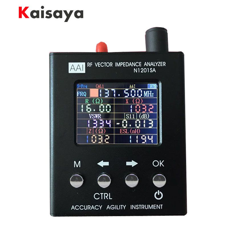 new English verison N1201SA 140MHz-2.7GHz UV RF Vector Impedance ANT SWR Antenna Analyzer Meter Tester 140MHz - 2.7GHz D1-005