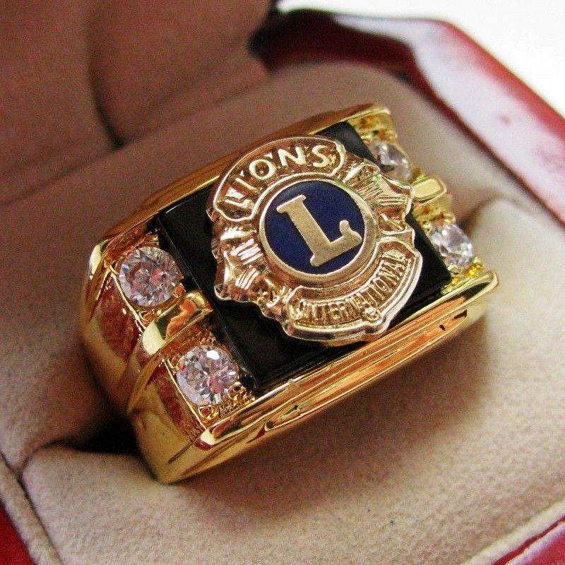 Heißer Verkauf Labor Onyx 18kT Gold Gefüllt, NEUE! Herren Schottischen Ritus 14 Grad Maurer CREST Ring