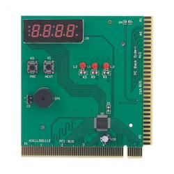 VBESTLIFE 4-Digit PC Analyzer Komputer Kartu Diagnostik Motherboard POST Tester untuk PCI & ISA