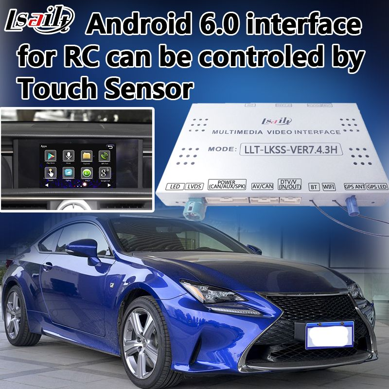 Plug & Play Android Auto GPS-Navigation für Neue Lexus RC mit Mirrorlink Online Navigation Live Navigation etc.