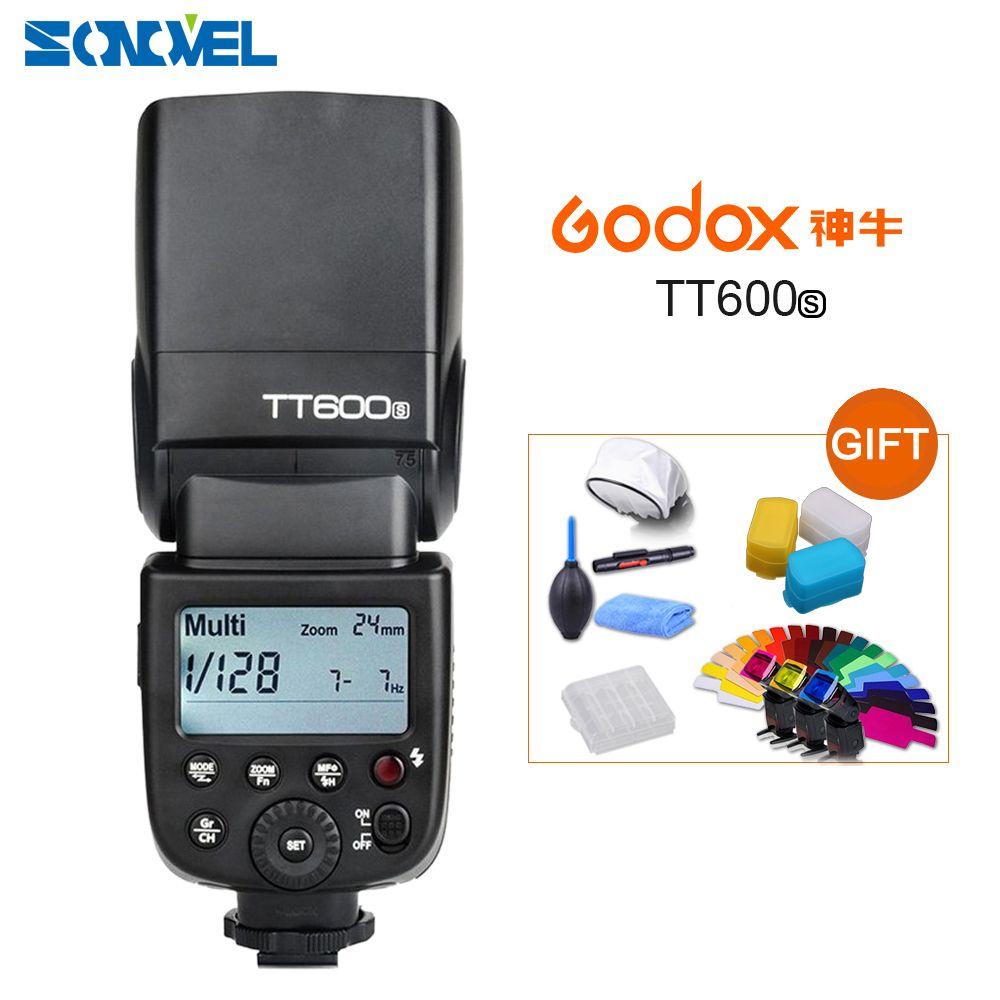 Godox TT600S GN60 2,4G Kamera Flash Speedlite für Sony A7II/A7/A7r/A7s/A7RII/ a7SII/RX10 III/A6000/A6100/A6300/A6500/A99