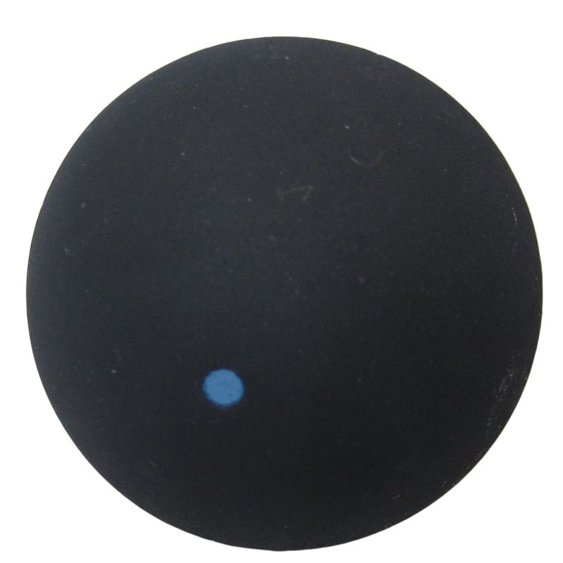 1 шт. FANGCAN один в синий горошек сквош мяч быстрая скорость durablity обучение сквош мяч для начинающих
