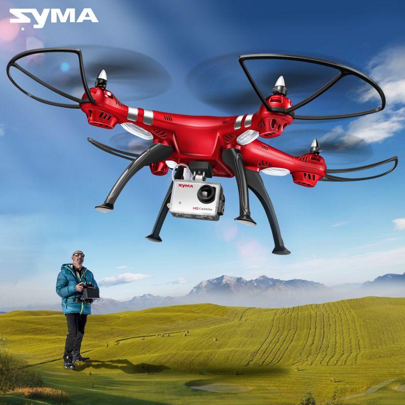 SYMA Professionelle UAV X8HG X8HW X8HC 2,4g 4CH RC Hubschrauber Drohnen 1080 p 8MP HD Kamera Quadcopter (SYMA x8C/X8W/X8G Upgrade)