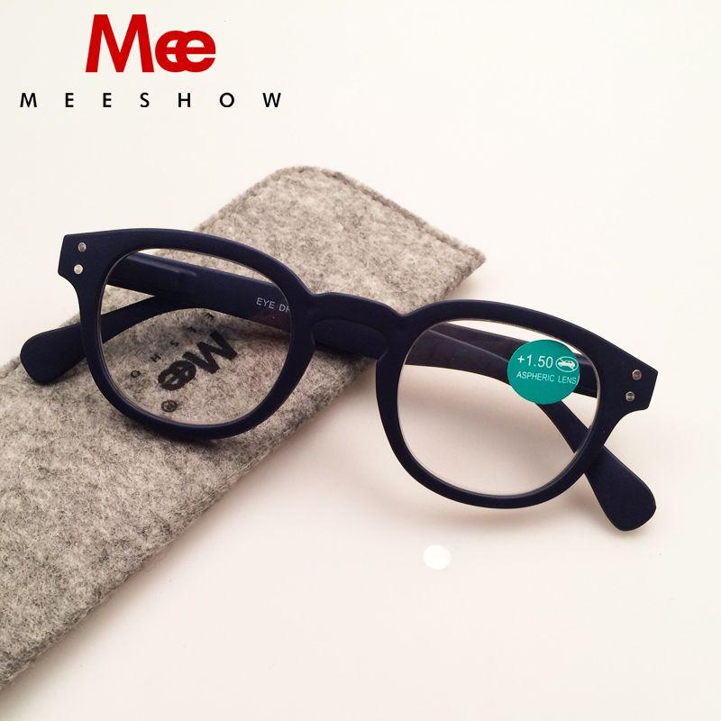 2019 Marque lunettes de lecture avec le cas Rétro Europe style Hommes lunettes pour femmes avec flex + 1.0-4.00 Français concept lunettes de lecture