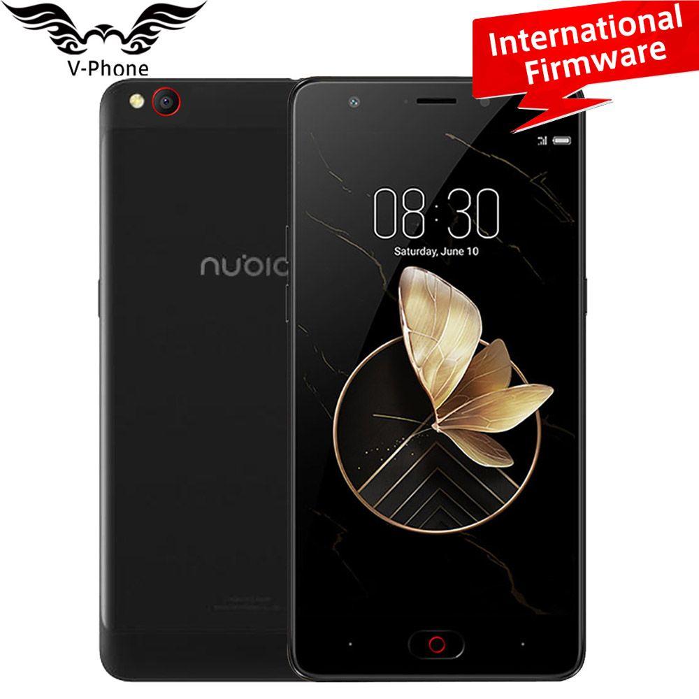 Global Firmware ZTE Nubia M2 Play 4G LTE Mobile 3GB RAM 32GB ROM MSM8940 Octa Core 5.5'' 5.0MP 13.0MP Dual Camera Fingerprint