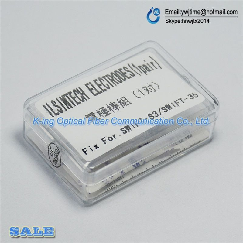 Free shipping NEW Electrodes for ILSINTECH EI-21 SWIFT-S3 SWIFT-S5 Fusion Splicer Electrodes