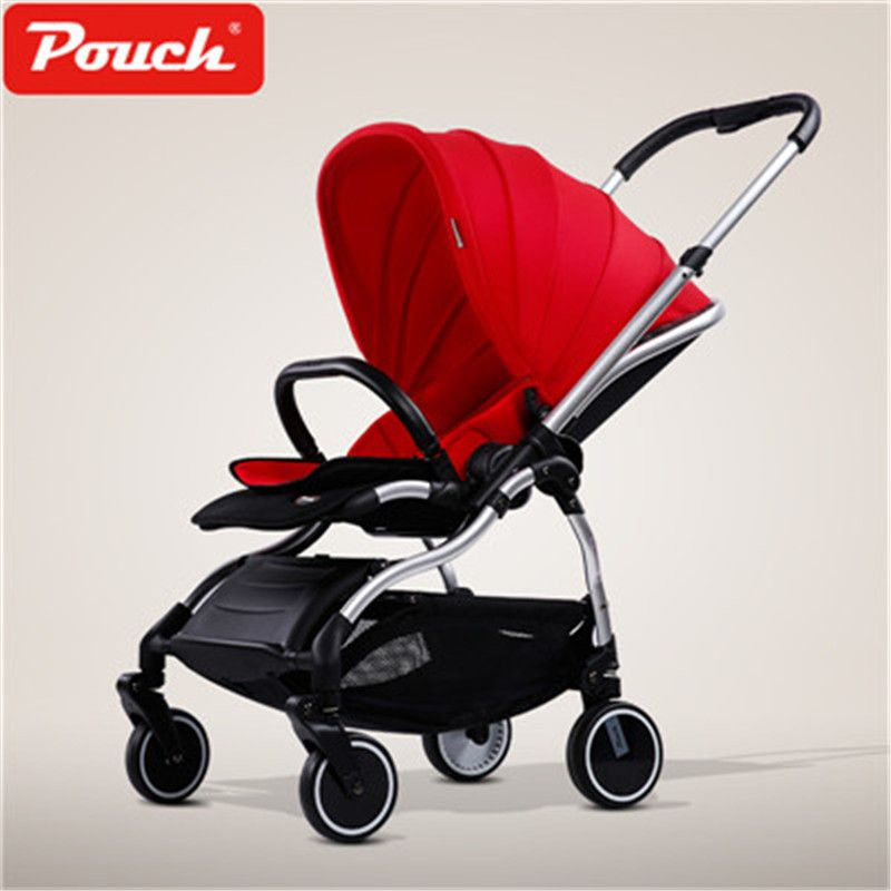 9.8kg Pouch Baby Stroller Super Light Portable Folding Baby pram Child Cart 180 degree sleep newborn baby carriage pram