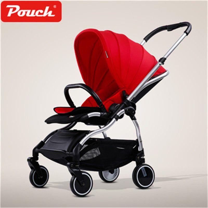 9.8kg Pouch Baby Stroller Super Light Portable Folding Baby pram Child Cart 180 degree sleep newborn baby carriage pram
