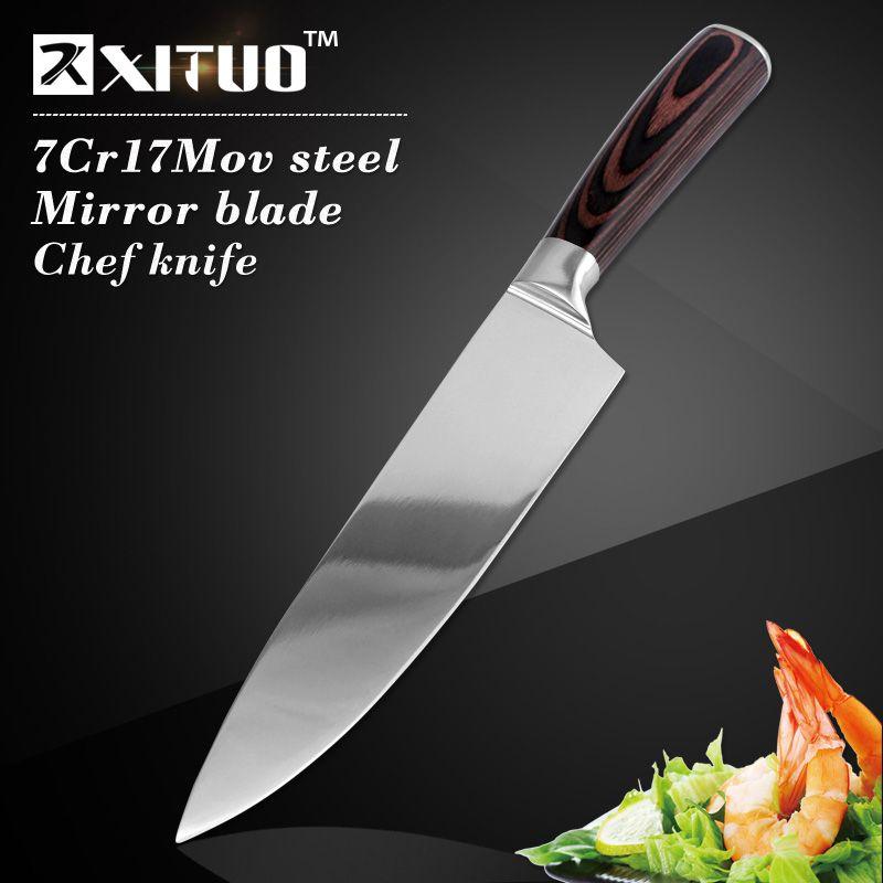Couteau de cuisine XITUO Sharp multi japon 8