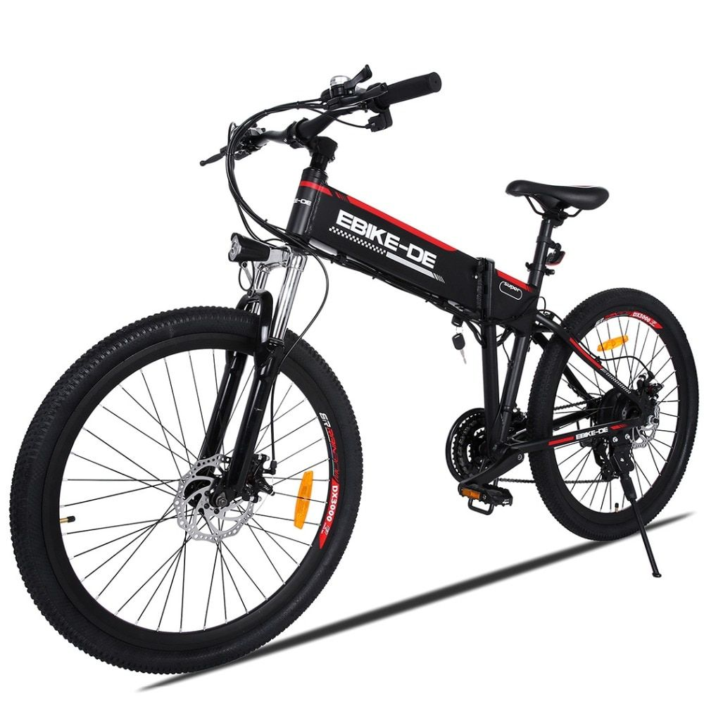 ANCHEER Outdoor Elektrische Fahrrad Lithium-Batterie Aluminium Legierung Elektrische Fahrrad 250 W Leistungsstarke Berg Stadt Ebike EU Stecker Für Männer