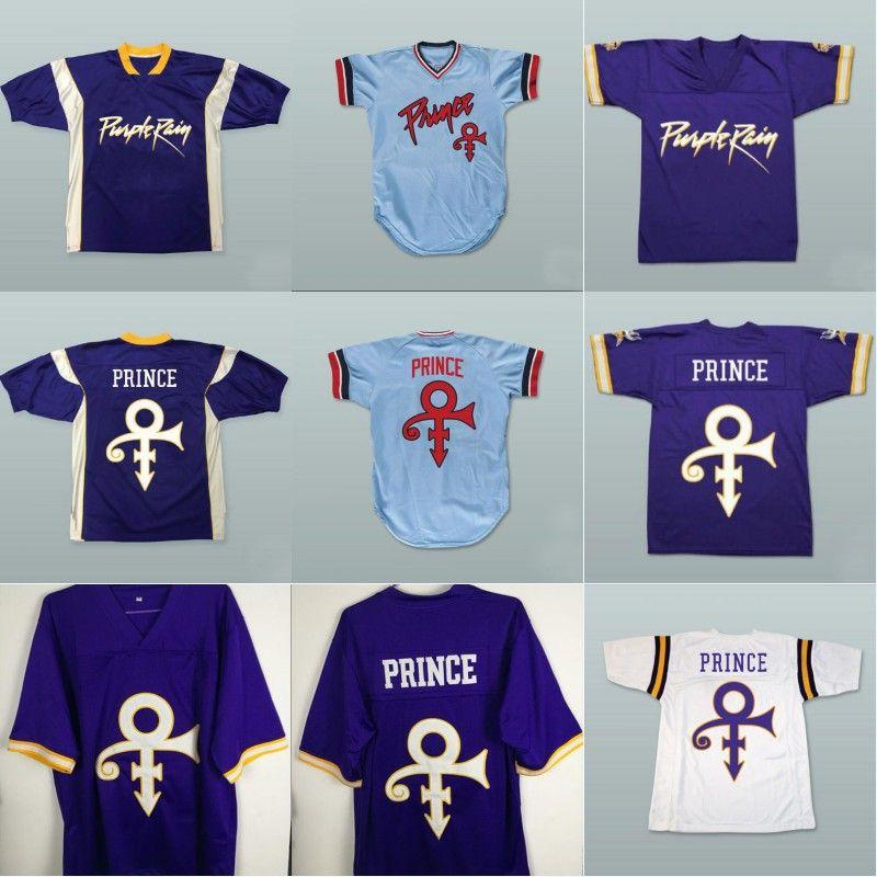 VIVA VILLA Prince Purple Rain Minnesota Retro Football Jersey Stitched Men American Football Jersey S-4XL Free Shipping