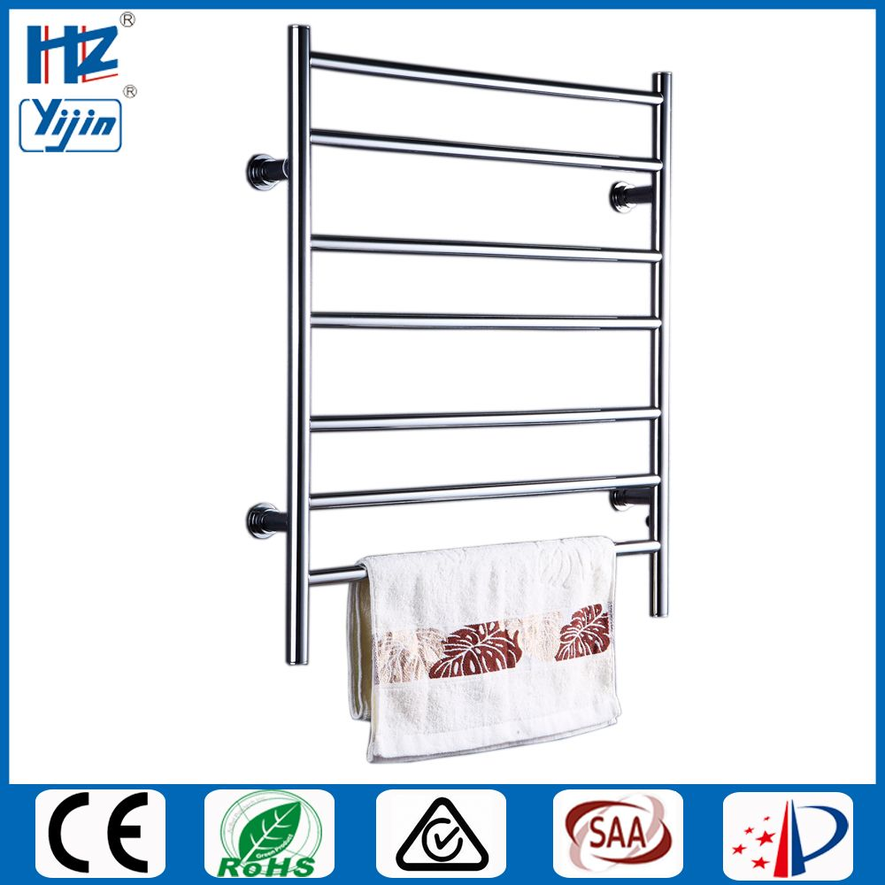 Free Shipping Stainless Steel Electric Wall Mounted Towel Warmer Bathroom Accessories Towel Dryer Racks,Heated Towel Rail HZ-926