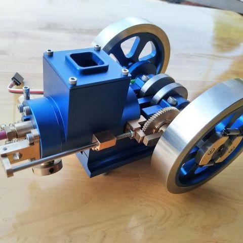 Engine Oil Engine Mini Engine Model Hit and Miss Engine Send Friend Birthday Gift
