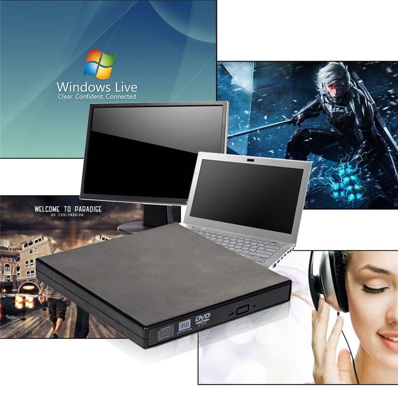 Portable Externe CD RW, DVD RW, DVDRW, Slim 8x DL USB Graveur DVD Externe DVD Graveur Lecteur pour PC De Bureau Ordinateur Portable de Haute Qualité