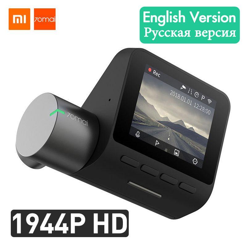 Xiaomi 70mai Dash Cam Pro Smart Car DVR Camera Wifi 1944P GPS ADAS Voice Control Parking Monitor 140FOV Night Vision Dash Camera