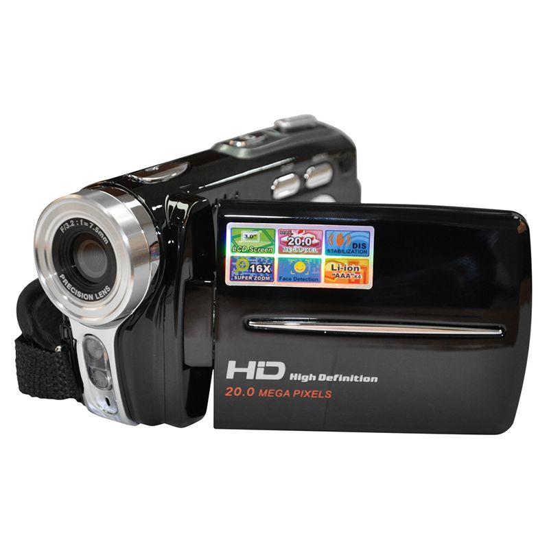 Ordro HD 720 P 16X Zoom 20MP Reflex appareils Photo numériques haute qualité enregistreur vidéo CMOS objectif caméscopes Photo professionnel
