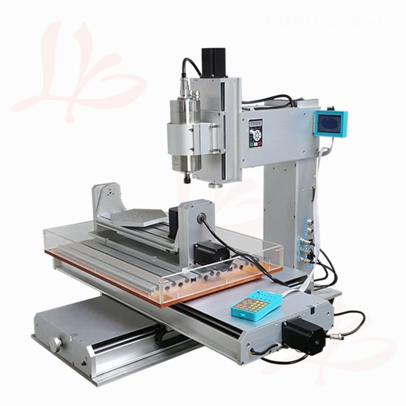 5axis pillar type cnc machine vertical CNC 6040 engraving machine 2.2KW with Ball Screw