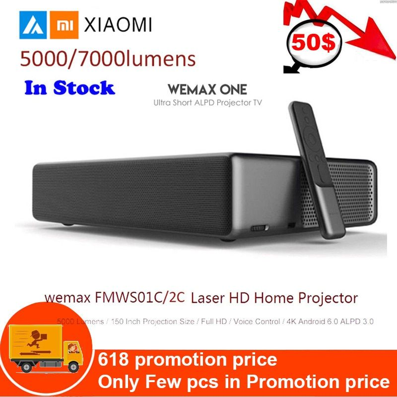 Xiao mi mi Laser Projektor Android WEMAX ONE PRO Lumen TV 150 Zoll 1080 Full HD 4K Bluetooth 4,0 Wifi 2,4 5GHz DOLBY DTS 3D