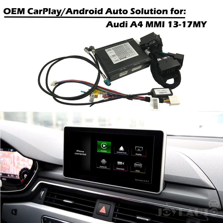 CarPlay Interface Smart CarPlay Box A4 MMI 3G 3G + OEM Apple Carplay Android Auto IOS Airplay Nachrüstung für Audi Mit Waze Spotify