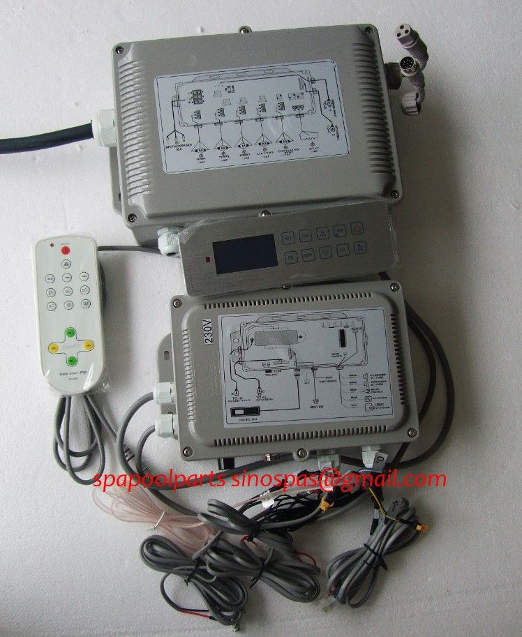 hot tub controller GD-7005/GD7005 / GD 7005 full set include display keypad panel and control box