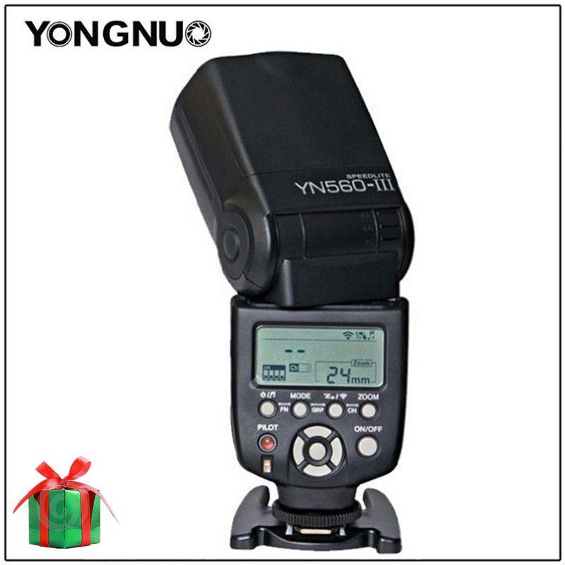 Yongnuo YN560 III YN-560 III YN560III Universal Wireless Slave Flash Speedlite For Canon Nikon Pentax Panasonic Olympus