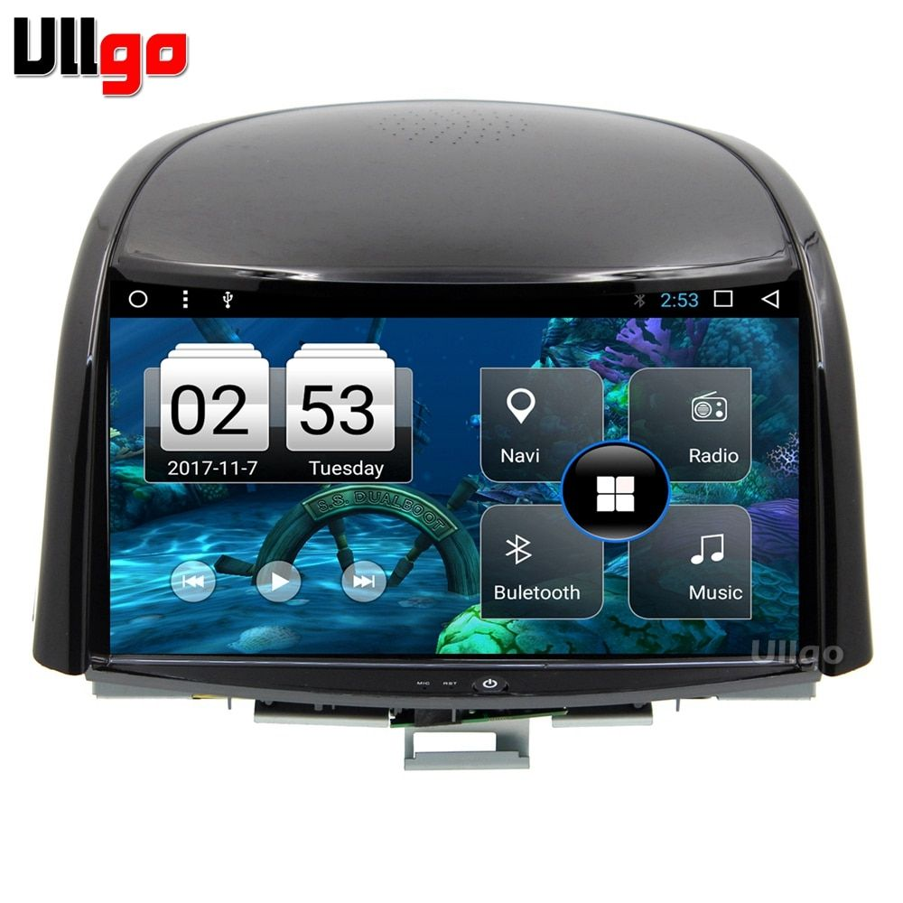 9 inch Octa Core Android 7.1 Car DVD GPS for Renault Koleos 2009-2014 Autoradio GPS Car Head Unit with BT RDS WIFI Mirror-Link