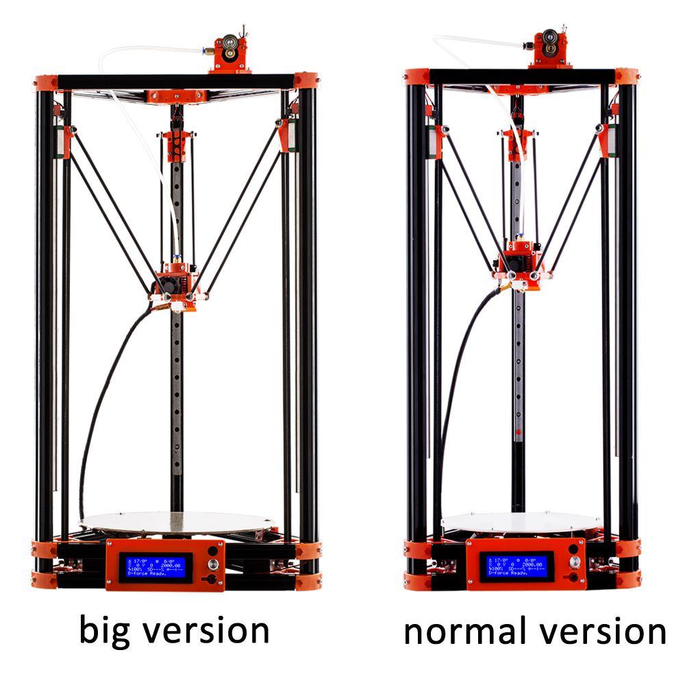 FLSUN 3D Drucker Pulley Version Linearführung Große Druck Größe 240*285mm Auto Nivellierung Erhitzt Bett und Ein roll Filament