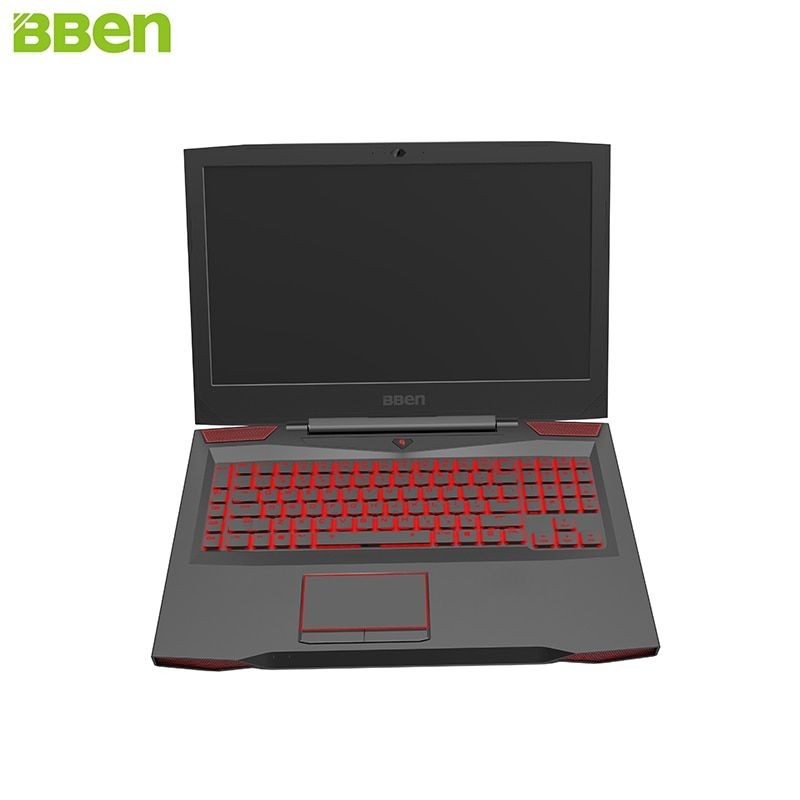 BBEN Laptop Gaming Computer Intel i7 7700HQ Kabylake 6G NVIDIA GTX1060 Windows 10 16GB Memory RGB Mechanical Keyboard HD Camera