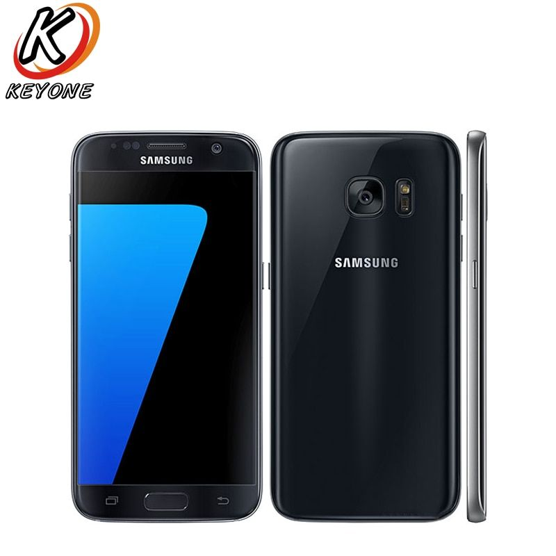Original Samsung Galaxy S7 G930W8 4g LTE Handy 5,1 4 gb RAM 32 gb ROM Octa Core 12MP Android 2560x1440px Einzelne SIM Telefon