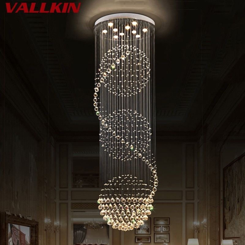 Modern Crystal Chandeliers Home Lighting lustres de cristal Decoration Luxury Indoor Chandelier Pendants Living Room Indoor Lamp