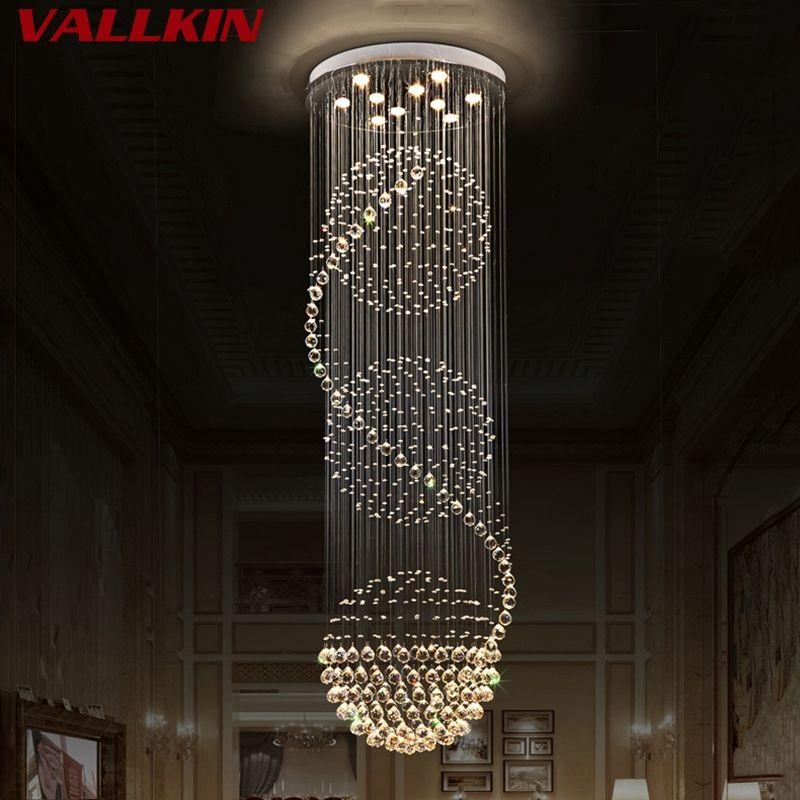 Modern Crystal Chandeliers Home Lighting lustres de cristal Decoration Luxury Indoor Chandelier Pendants Living Room Indoor Lamp