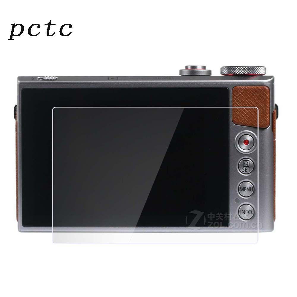 2017 Promotion Crédit D'impôt pour Contributions Politiques Pour G9x G7x Trempé Verre 0.3mm 2.5d Radian Anti-Empreintes Digitales anti-rayures Caméra Écran protecteur