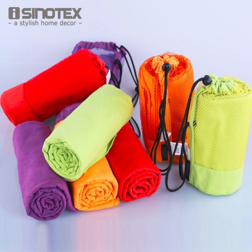 Спортивные Полотенца с мешком 70x130 см больше Размеры микрофибры toalha de, Одежда заплыва путешествия тренажерный зал Полотенца