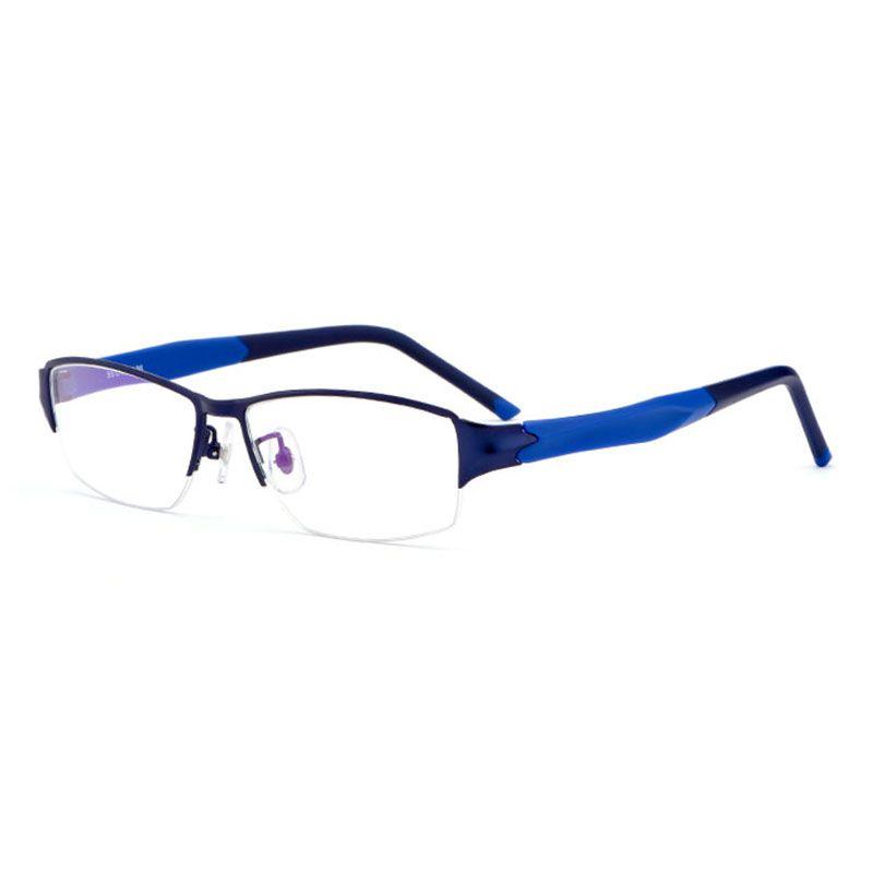 Reven Jate M8826 Semi rim Eyeglasses Frame for Men and Women Eyewear Fashion Prescription Glasses Frame for Rx Spectacles