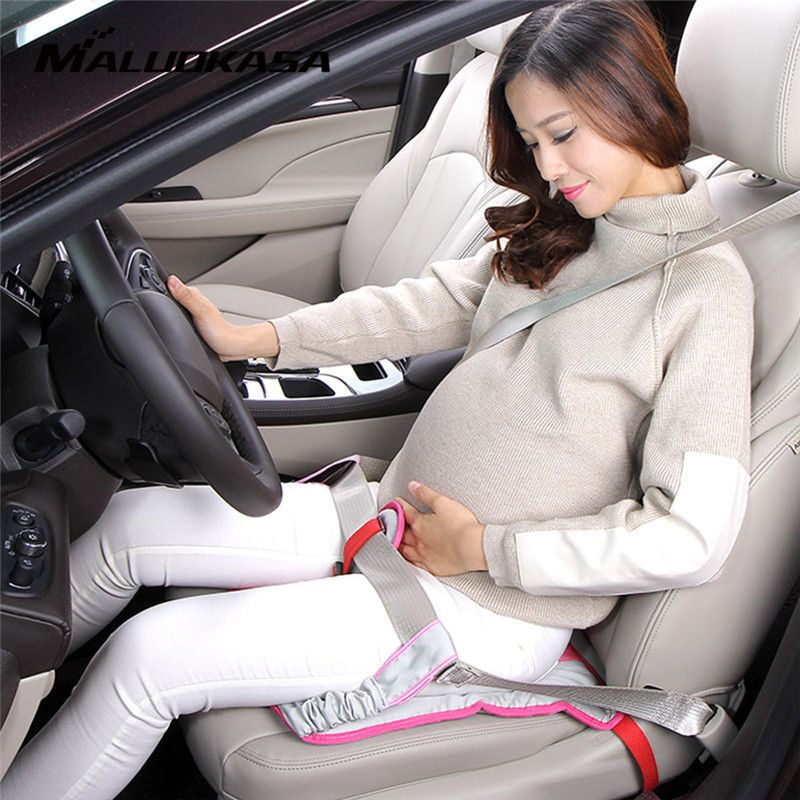 Car Seat Belt for Pregnant Woman Driving Safety with Car Seat Cushion Shoulder Pad Car Soft Strap Protection Cover Safety Belt