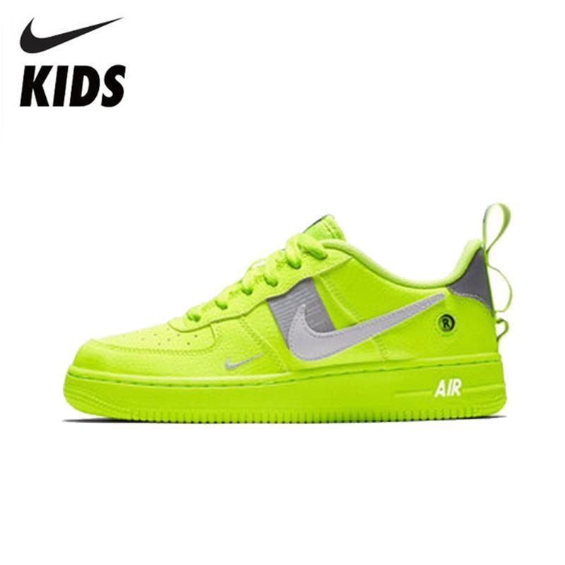Nike AIR FORCE 1 LV8 UTILITY (GS) Komfortable Wird Kind Motion kinder Laufschuhe # AR1708