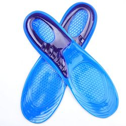 Silicone Anti-Slip Gel Doux Chaussures de Sport Semelle Pad S/L Taille Orthotic Arch Support Massage Semelle