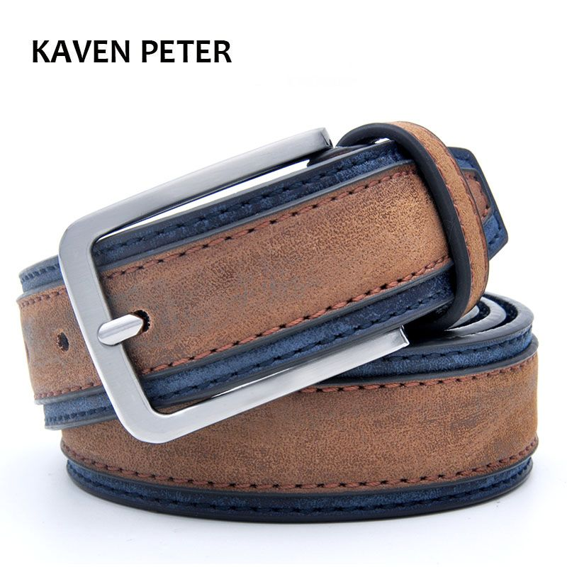 Décontracté Patchwork hommes ceintures Designers de luxe hommes mode ceinture tendances pantalon avec trois couleurs pour choisir la livraison gratuite